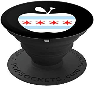 Chicago Teacher Strike Protest Teach Union Education March PopSockets Grip and Stand for Phones and Tablets