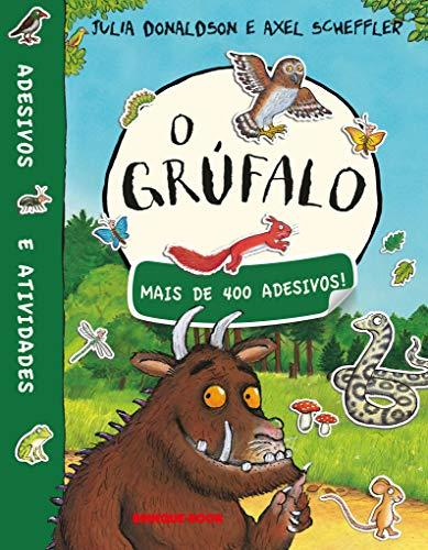 O grúfalo - Livro de adesivos: Mais de 400 Adesivos