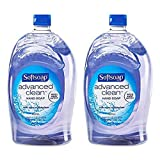 Softsoap Brand Clear Hand Soap Refill 80 Ounce Bottle (2 Pack)