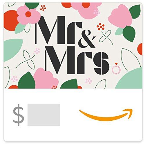 Amazon eGift Card - Mr & Mrs