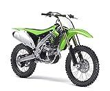 New Ray Toys 1:6 Scale 2010 Kawasaki Kx450X Dirt Balance Bike 49403, (Green, 49083)