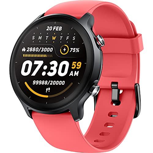 Holabuy Smartwatch, Reloj Inteligente Hombre Mujer con 14 Modos de Deporte, Monitor de Oxígeno de Sangre Monitor de Sueño Frecuencia Cardíaca, Monitores de Actividad Impermeable 5ATM para Android iOS
