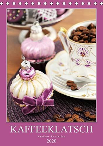 Kaffeeklatsch - Antikes Porzellan (Tischkalender 2020 DIN A5 hoch): Kaffeekannen und Vasen aus dem Biedermeier, Historismus und Jugendstil (Monatskalender, 14 Seiten ) (CALVENDO Kunst)