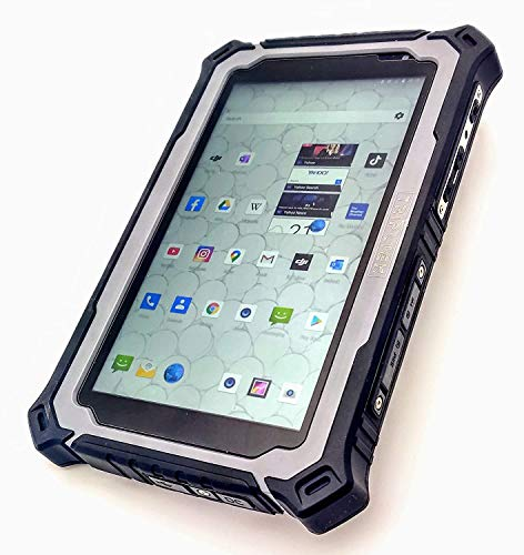 Android TRIPLTEK Sunlight Readable Rugged 7' Tablet 1200 nit Display Drone Controller and GPS Monitor - 4G LTE/6GB RAM/128 ROM 8.1/10 core Processor/Industrial Rugged Construction