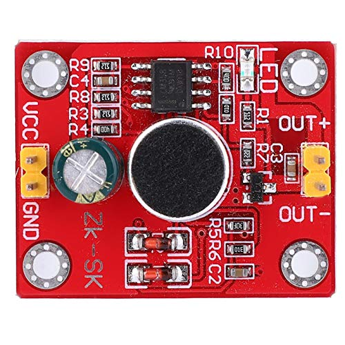 【𝐂𝐡𝐫𝐢𝐬𝐭𝐦𝐚𝐬 𝐃𝐞𝐚𝐥𝐬】Voice Control Delay Switch,Voice Control Delay Switch Sound Activated Delay Module DC 3-9V,Built-in Anti-Interference Circuit