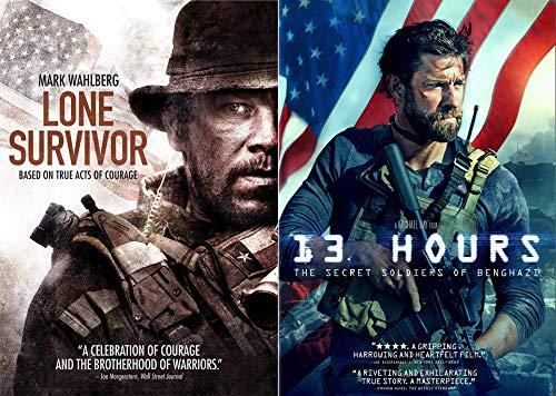 Brotherhood Of Warriors: 13 Hours & Lone Survivor Double Feature 2-DVD Movie War Bundle