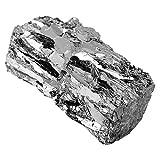 Bismuto Metal Bismuto Lingote Chunk 100g 99.99% puro Bismuto Crystal Geodes para hacer cristales y señuelos de pesca