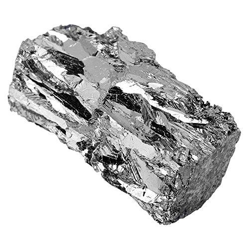 Bismut Wismut Metall Barren Chunk 100g 99,99% Reine Wismut Kristall Geoden für Kristalle/Angelköder