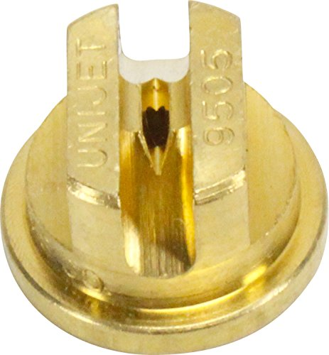 Smith Performance Sprayers 182924 Brass Flat Tip 0.5 GPM, 95-Degree Fan, 9505