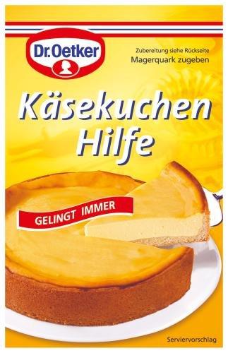 Dr. Oetker Käsekuchen Hilfe, Hilfsmittel zum Backen von Quark-Kuchen, 13 x 58 g