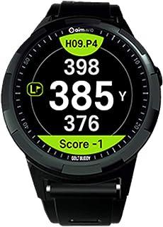 Golf Buddy Unisex-Adult aim W10 Aim W10 GPS Watch, Black