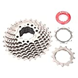 Maxmartt Bike Cycling Sprocket,ZTTO Road Bike Freewheel Cassette Sprocket 9 Speed 11-28T Bicycle Replacement Accessory