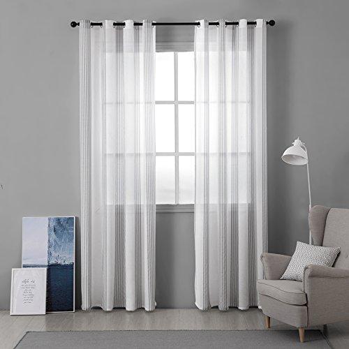cortinas lino rayas