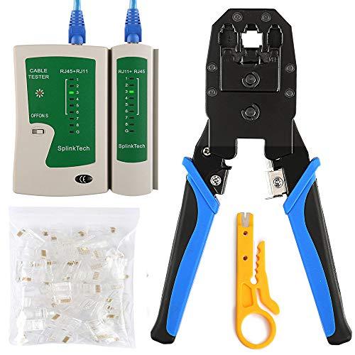 Solsop Cable Tester RJ45 Crimp Tool kit