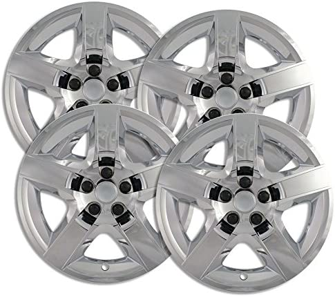 Upgrade Max 45% OFF Your Auto Chrome Hubcap Wheel Set Covers 4 Manufacturer direct delivery of for Satu