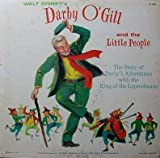DARBY O'GILL & THE LITTLE PEOPLE - STUDIOCAST STORY BASED ON MOVIE - DISNEYLAND LP