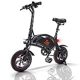 urbetter Bicicleta Electrica Plegables ebike 40-60 km de autonomía 250W Bicicletas Plegable 25 km/h, Bici Electricas Adulto con Ruedas de 12', Batería 36V 10Ah, con Pedales, Asiento Ajustable, B1 Pro