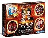 Clementoni 59050 Ehrlich Brothers Modern Magic, Zauberkasten für Kinder ab 7 Jahren, magisches Equipment für 35 moderne Zaubertricks, inkl. 3D Erklärvideos