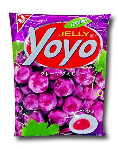 YOYO Gelatin Gummy Jelly Desert Grape Flavor Size 80 Grams