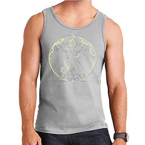 Vitruvian Saiyan Goku Dragon Ball Z Men's Vest