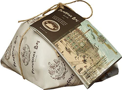 Panettone Baj. Desde 1768-0.5 kg - Tarta milanesa tradicional con un folleto histórico