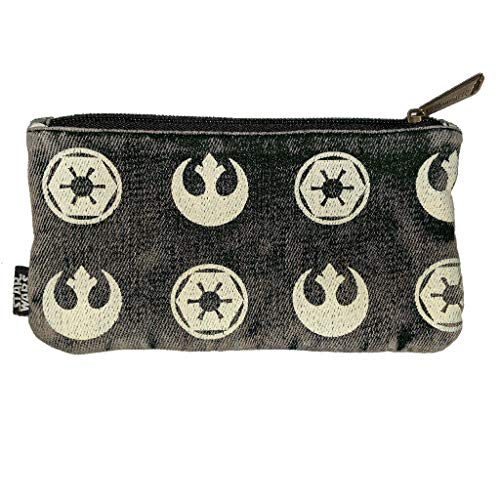 Loungefly Star Wars Rebel Imperial Symbol Pouch