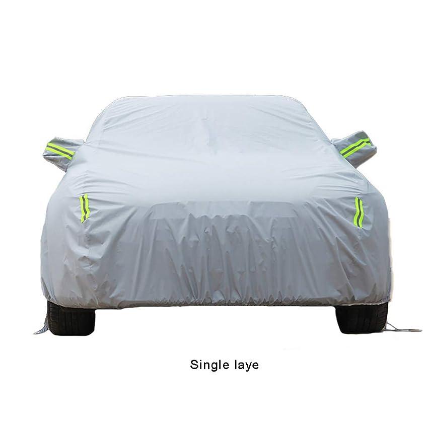 GLP 車のカバーはポルシェケイマン2015年2014年2011年2010年2009年GTS 2013 2.7L S 3.4Lブラックエディション2.9Lスパイダー、オックスフォード布/コットン裏地 車のカバー完全に防水抗UV雨日焼け止め保護服のジャケット (Color : A, Size : 2015 Style Edition 2.7L)
