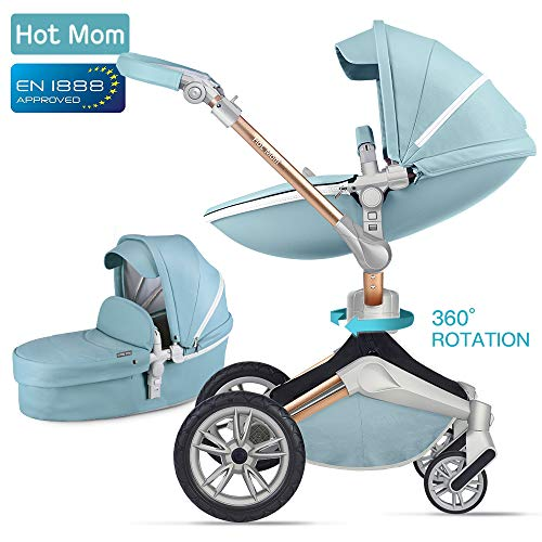 Silla de paseo compacta Hot Mom reversible