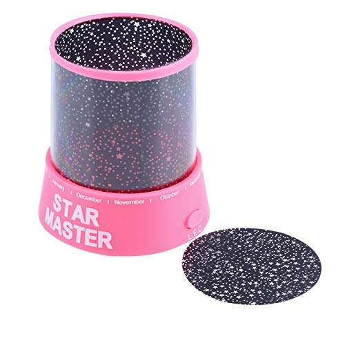 Yukiko Romatic Cosmos Moon Star Master Projector LED Starry Night Sky Light Lamp Baby