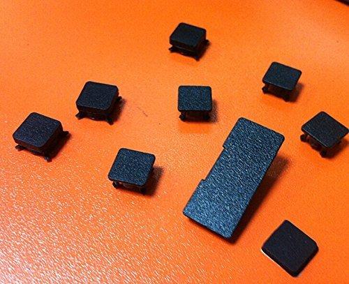 CrownTrade Gummifüße Cover Set für Sony PS3Slim Konsole 9PCS Gummifüße, (UK