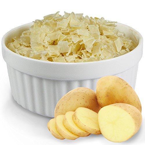 Schecker Dogreform Kartoffel-Flocken nur 0,7% Fett Zum Mixen mit (Frisch-) Fleisch oder Verlängern des Dosen- oder Hauptfutters.