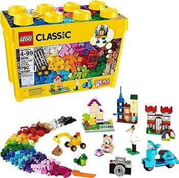 790-Pieces LEGO Classic Large Creative Brick Box 10698 Building Kit