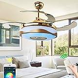 Ventilator aan het plafond met verlichting 60W, Modern LED verlichting plafond...