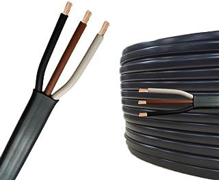 5m AUPROTEC Flachkabel 3 adriges Elektrokabel Anhängerkabel 3 x 1,5 mm²