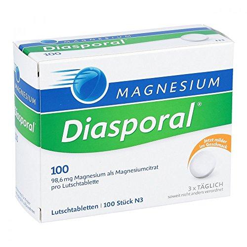 Magnesium-Diasporal 100, 100 St. Lutschtabletten