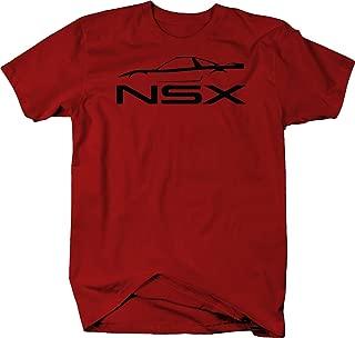 Acura NSX Supercar Formula Racing Color Tshirt