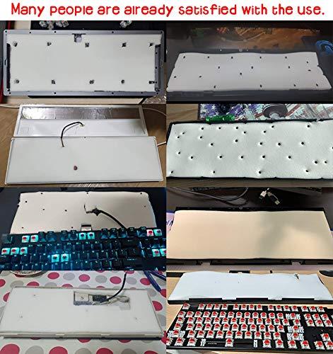 GOKA keyboard bottom echo noise absorption soundproofing memory-foam for Cherry MX Custom Mechanical Keyboard