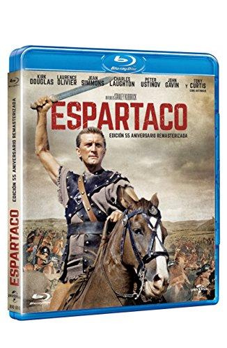 Espartaco 55 Aniversario. Remasterizada [Blu-ray]
