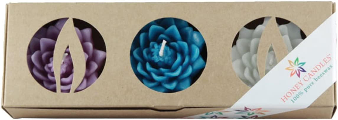 Honey Candles Enlighten Floating Beeswax Purchase Lotus Blossoms Direct store Tranquil