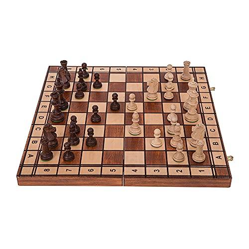Square - Ajedrez de Madera - Jupiter - 40 x 40 cm -...