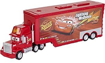 Disney Pixar Cars Mack Truck and Transporter
