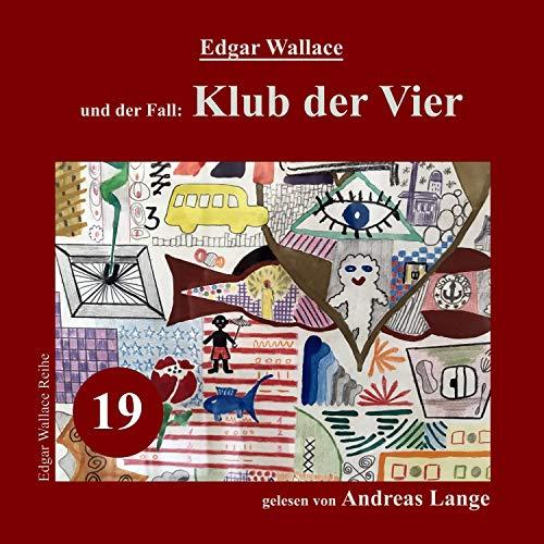 Klub der Vier audiobook cover art