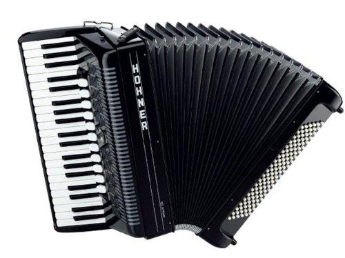 HOHNER AMICA IV 120 SCHWARZ Akkordeons Piano-Akkordeons