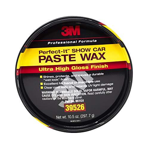 3M Perfect-it Show Car Paste Wax, 39526, 10.5 oz Net Wt