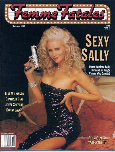Femme Fatales Magazine SEXY SALLY KIRKLAND Topless Pin-Up Girls JEWEL SHEPARD June Wilkinson CHEESECAKE PHOTOS Summer 1994 C VG