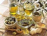 BIO Olivenölseife- d'moRe Olivenölseife – 100% Naturprodukt – Reine Olivenölseife – Für Haar, Gesicht, Hände und Körper. Vegan, Geruchlos, Kaltgepresst, Handgemach - 8