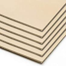 レザークラフトに最適 6枚セット タンニンなめし 革素材 ヌメ革きなり 成牛タンロー 国産 /A4サイズ(210x297mm) 6枚セット 0.8ミリ厚