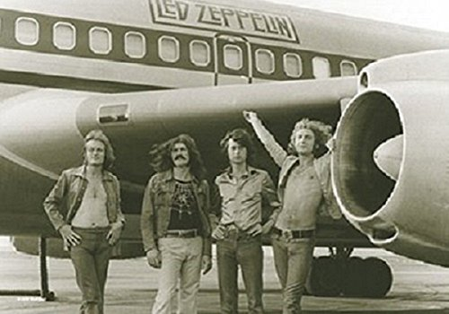 Led Zeppelin Airplane Giant Fabric Poster 44' x 30'