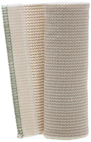 Medline MDS087006LF Matrix Elastic Bandages, Non Sterile, 6' x 5 yard, White/Beige (Pack of 50)