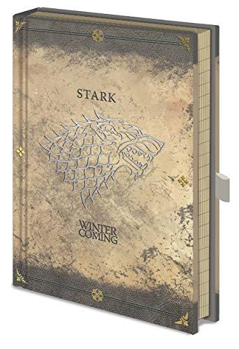 Game Of Thrones - Notebook Premium Stark Worn